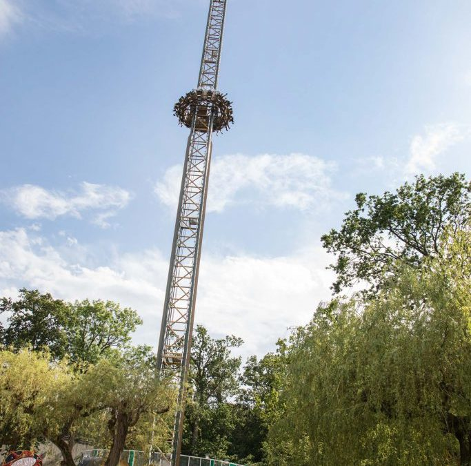 Observation Gyro Drop Tower