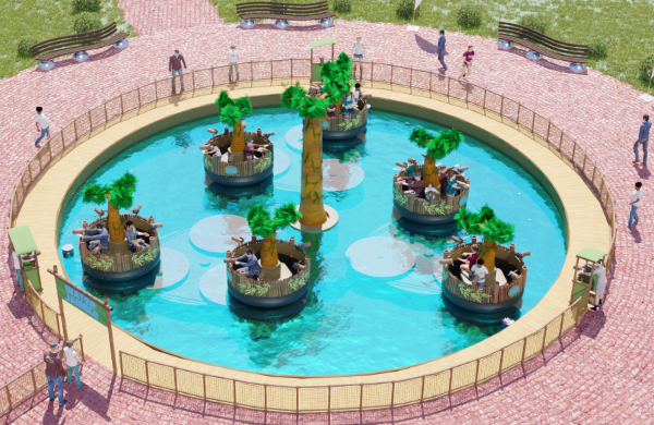 Interactive Water Jumble