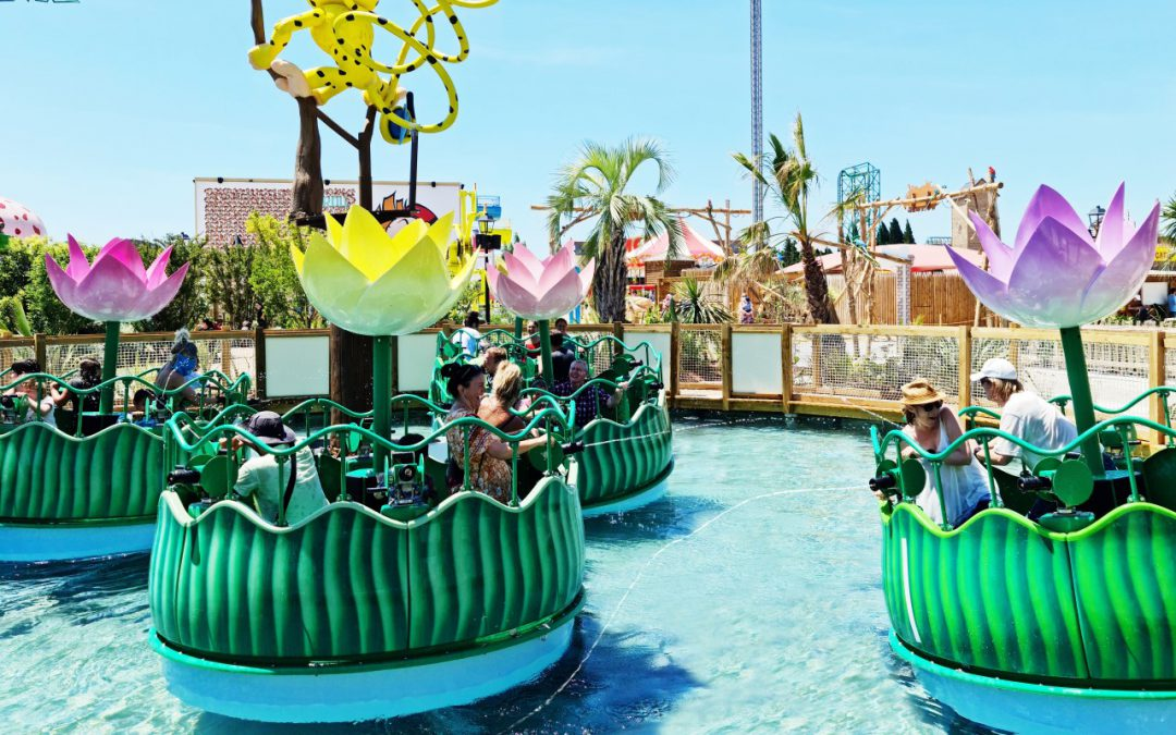 Novelty in France: Parc Spirou – Interactive Water Jumble