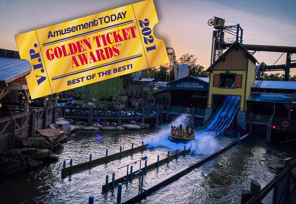 Golden Ticket Awards 2021: 1 Ride – 3 Awards!